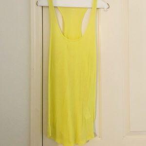 H&M Neon Yellow Tank Top